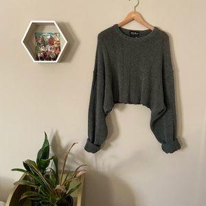 Eddie Bauer cut boyfriend style sweater